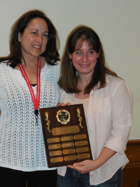 Melissa Guimont gets volunteer award